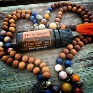 frankincense mala beads